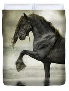 Friesian Surf  Duvet Cover