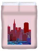 Frisco Skyline Duvet Cover