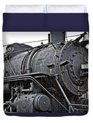 Frisco Train Locamotive One Duvet Cover