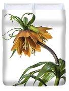 Fritillaria Imperialis Duvet Cover