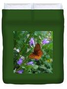 Fritillary Butterfly Duvet Cover
