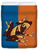 Frog 01 Duvet Cover