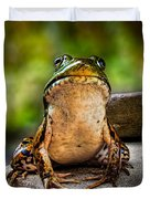 Frog Prince Or So He Thinks Duvet Cover by Bob Orsillo