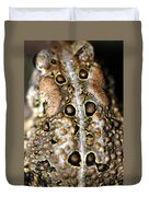 Frogs Back Duvet Cover