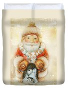 frohe Weihnachten Duvet Cover