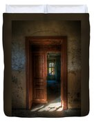 From A Door To A Window Duvet Cover