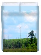 From A Dragonfly's Point Of View Duvet Cover