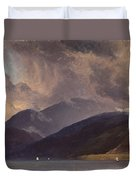 From Balestrand At The Sognefjord Duvet Cover