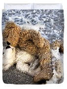 From Bear To Eternity - By William Patrick And Sharon Cummings Duvet Cover