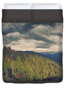 From Moro Rock Of The Sequoias Duvet Cover