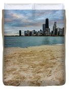 From North Avenue Beach Duvet Cover