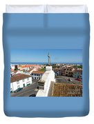 From The Church Tower Duvet Cover