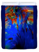From The Deep Blue Duvet Cover