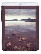 From The Depth Of Silence. Ladoga Lake  Duvet Cover