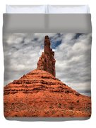 From The Valley To The Sky Duvet Cover