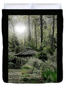 From Whence The Light Came Duvet Cover