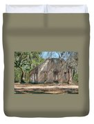 Front View Of The Chapel Of Ease Duvet Cover