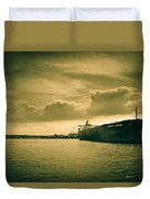 Frontier Ambition Ship Duvet Cover