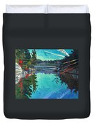 Frood Lake Outlet Duvet Cover