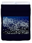 Frost Flakes On Ice - 01 Duvet Cover