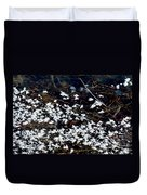 Frost Flakes On Ice - 10 Duvet Cover