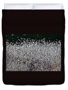 Frost Flakes On Ice - 12 Duvet Cover