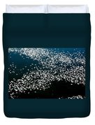 Frost Flakes On Ice - 15 Duvet Cover