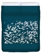 Frost Flakes On Ice - 19 Duvet Cover