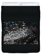 Frost Flakes On Ice - 30 Duvet Cover