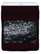 Frost Flakes On Ice - 33 Duvet Cover