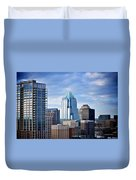 Frost Tower Iphone And Prints Duvet Cover