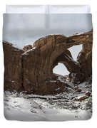 Frosted Double Arch Duvet Cover