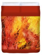 Frosted Fire IIi Duvet Cover