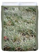 Frosted Grass Duvet Cover