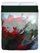 Frosted Hibiscus 2 Duvet Cover