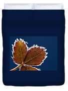 Frosted Leaf Duvet Cover