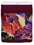 Frosted Leaves #2 - Painted Duvet Cover