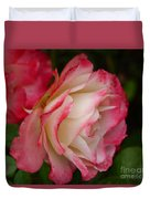 Frosted Rose Duvet Cover