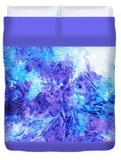 Frosted Window Abstract I   Duvet Cover
