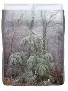Frosty Pine Duvet Cover