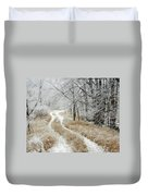Frosty Trail 2 Duvet Cover