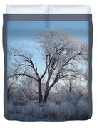 Frosty Trees 3 Duvet Cover