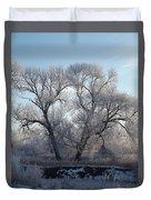 Frosty Trees 4 Duvet Cover