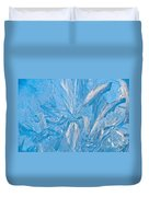 Frosty Window Art Duvet Cover