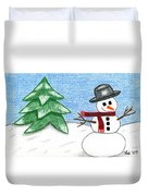 Frostyland Duvet Cover by Lisa Ullrich
