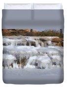 Frozen Falls Duvet Cover