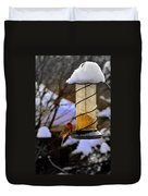 Frozen Feeder And Disappointment Duvet Cover