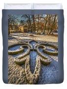 Frozen Garden  Duvet Cover
