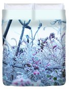 Frozen In Ice Nature Duvet Cover