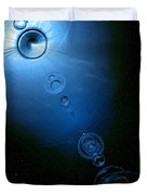 Frozen In Time And Space Duvet Cover